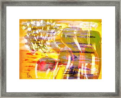 Indulge Framed Print by PainterArtist FIN