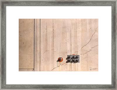 Industrial 6 Framed Print by Stephen Prestek