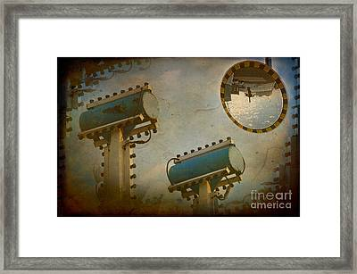 Industrial Accolades Framed Print by The Stone Age
