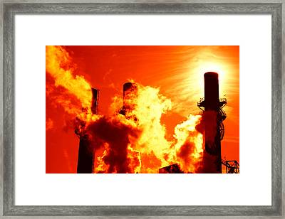 Industrial Framed Print by Alexey Stiop
