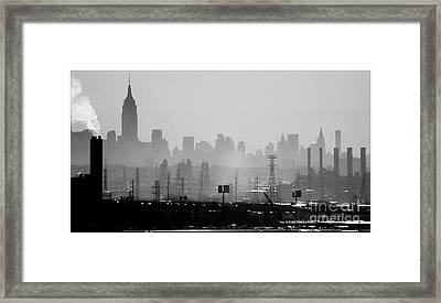 Industrial And Corporate Framed Print by James Aiken