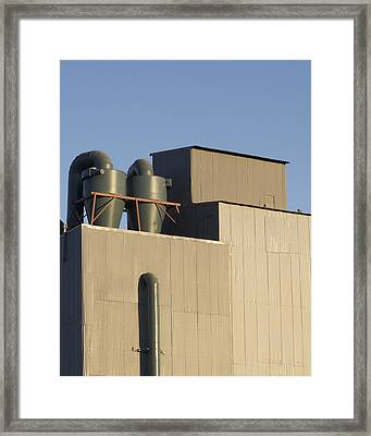 Industrial Building Framed Print