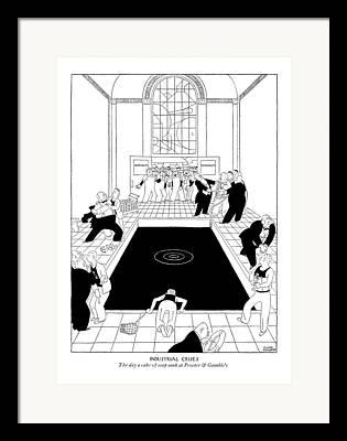 Merchandise Drawings Framed Prints
