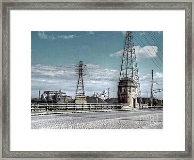 Industrial Detroit Framed Print by MJ Olsen
