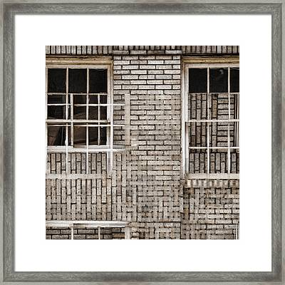 Industrial District Abstract Number 2 Framed Print