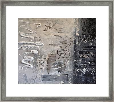 Industrial Energy Framed Print