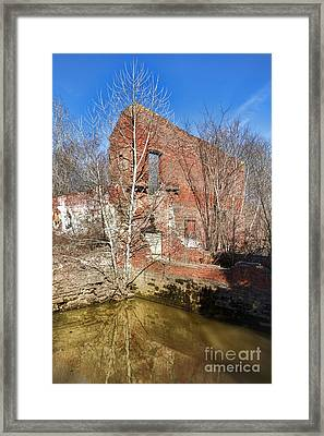 Industrial Ghost Framed Print by Olivier Le Queinec