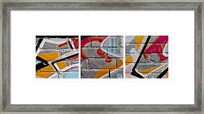 Industrial Graffiti Framed Print by Art Block Collections