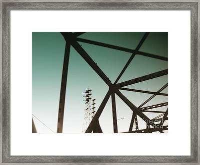 Industrial IIi Framed Print by A K Dayton