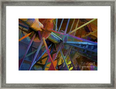 Industrial Light And Magic Framed Print by Gary Holmes