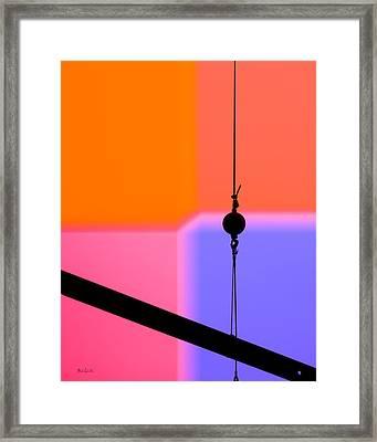 Industrial Pop Framed Print