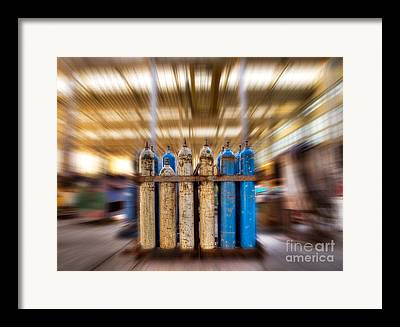 Energized Gas Framed Prints