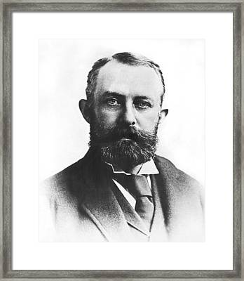 Industrialist Henry C. Frick Framed Print by Underwood Archives