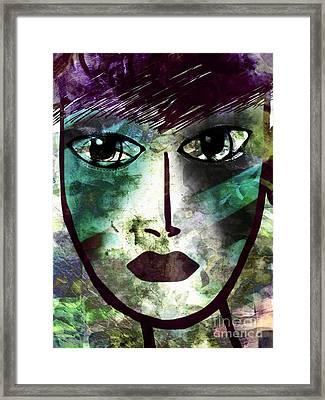 Industrialized - Masked Series Framed Print