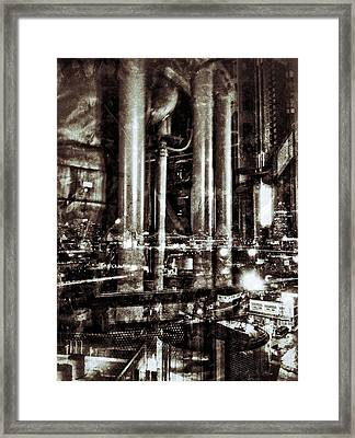 Industry Framed Print by H James Hoff