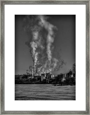 Industry In Black And White 2 Framed Print by Thomas Young