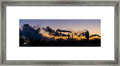 Industry Framed Print by Tom Ramsey