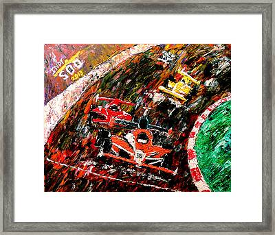 Indy 500  Framed Print by Mark Moore