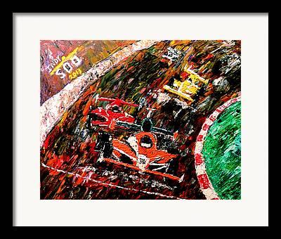 Bobby Rahal Framed Prints