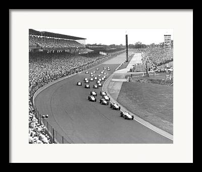 Indianapolis 500 Framed Prints