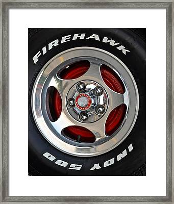 Indy 500 Framed Print by Frozen in Time Fine Art Photography