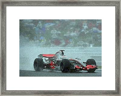 Indy Car 1 Framed Print