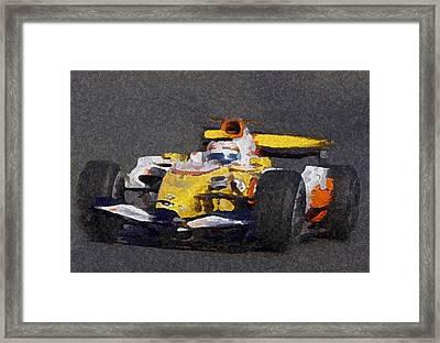 Indy Car 2 Framed Print