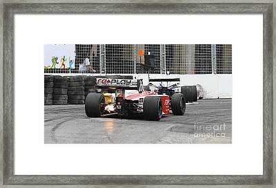 Indy Light  Framed Print