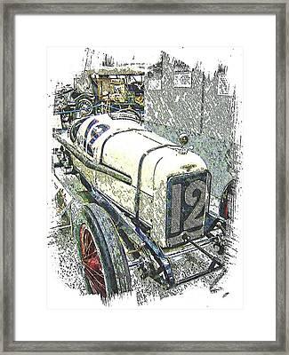Indy Race Car 2 Framed Print