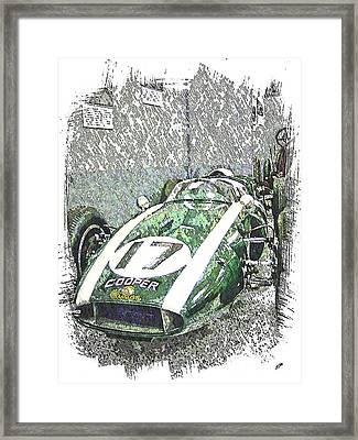 Indy Race Car 5 Framed Print