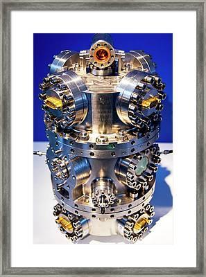 Inertial Sensor Head Framed Print by Mark Williamson
