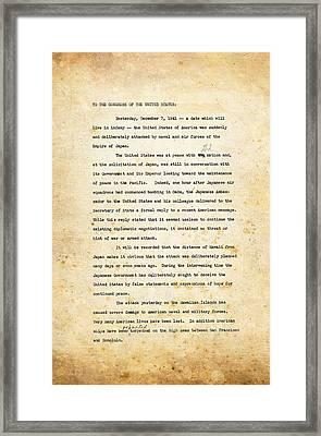 Infamy Framed Print by Ricky Barnard