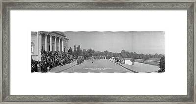 Infantry Reunion Tomb Of The Unknowns Framed Print