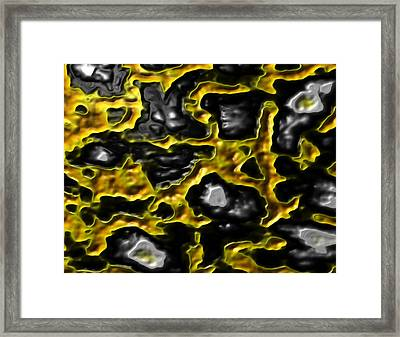 Infected Framed Print by Jeff Iverson