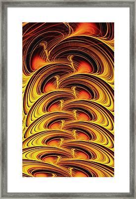 Inferno Framed Print by Anastasiya Malakhova
