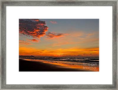 Inferno Sky Framed Print