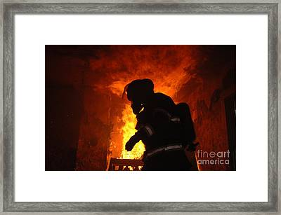 Inferno Framed Print by Steven Townsend