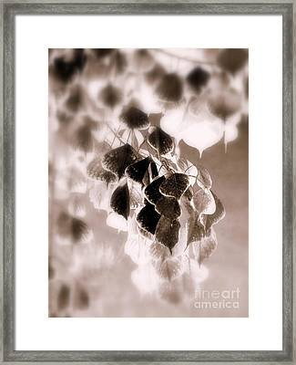 Inferred Autumn Framed Print