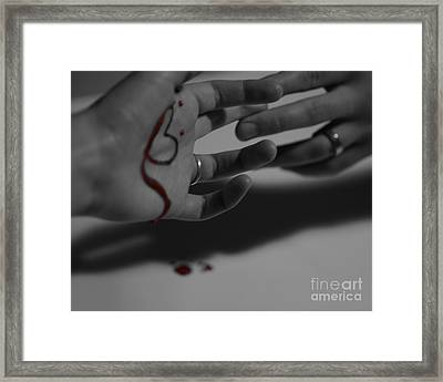 infidelity II Framed Print by Andrea Aycock