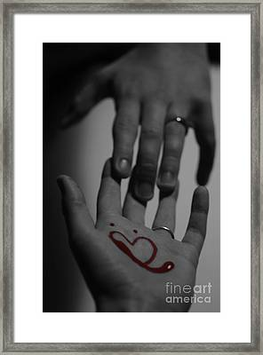 infidelity III Framed Print by Andrea Aycock