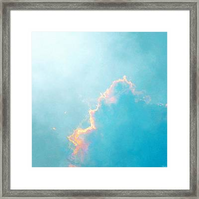 Framed Print featuring the painting Infinite - Abstract Art by Jaison Cianelli
