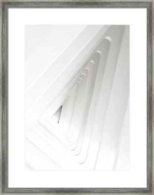 Infinite Arches Framed Print