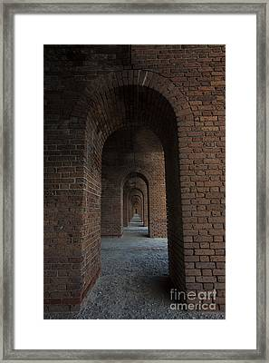 Infinite Arch's Framed Print by Keith Kapple