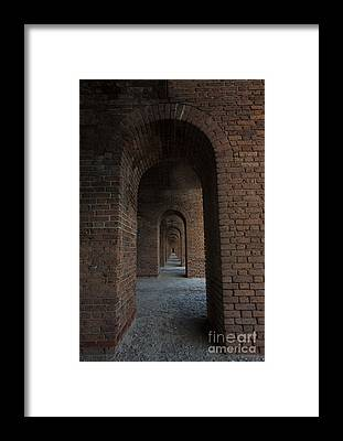 Spanish Fort Framed Prints