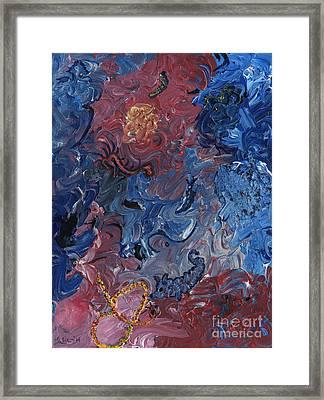 Infinite Beings Framed Print