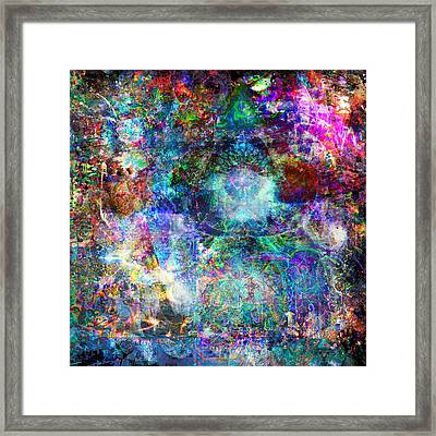 Infinite Bit 25 Framed Print by Jerry Cannon
