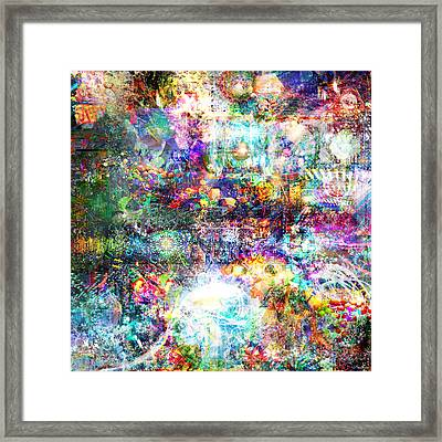 Infinite Bit 28 Framed Print by Jerry Cannon