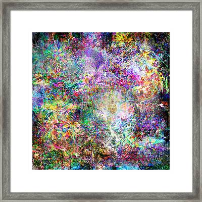 Infinite Bit 32 Framed Print by Jerry Cannon