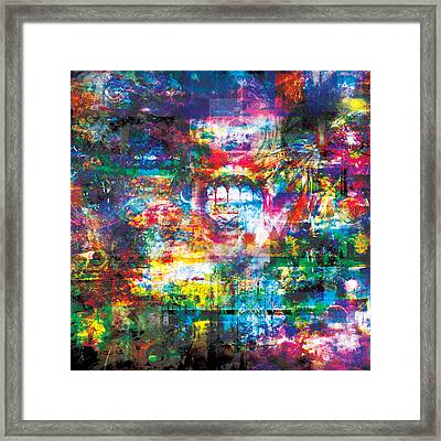 Infinite Bit 8 Framed Print by Jerry Cannon