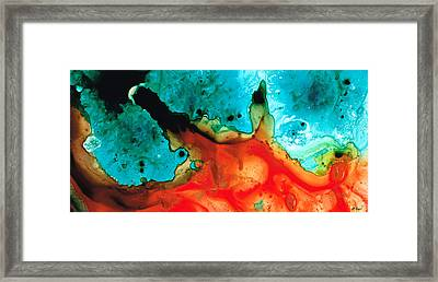 Infinite Color - Abstract Art By Sharon Cummings Framed Print